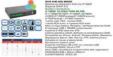 REGISTRATORE DIGITALE DVR STAND ALONE 4CANALI+ LAN+H264