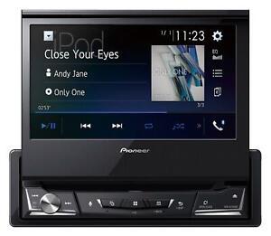 Pioneer AVH-A7100BT CD/DVD/MP3-Autoradio Touchscreen Bluetooth iPod AUX USB