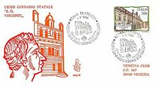 FDC Venetia - Italia - 1988 - Scuole d'Italia - Liceo Visconti Roma - VG