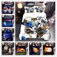 3D Ball Duvet Cover Sets Personalized Printing Quilt Cover,3-piece Bedding Set