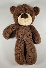"14"" GUND Brown FUZZY Chocolate Teddy Bear Stuffed Animal Plush Toy Free Shipping"