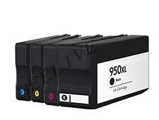 4 CARTUCCE COMPATIBILE PER HP 950XL 951XL CON STAMPANTE OfficeJet Pro 8600 Plus