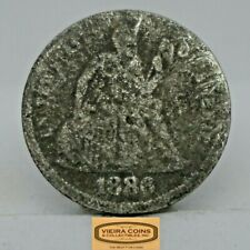 1886 Liberty Seated Silver 10 Cents - #C18185