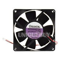 KD2408PTB1 DC24V 1.7W For Sunon double ball inverter cooling fan 80*80*25mm
