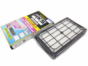 HKS 70017-AN101 Super Air Intake Panel Filter for Nissan/Subaru as Listed