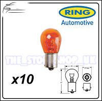 TRADE PACK of 10 Ring PY21W Indicator Amber Offset R581