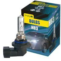 HB3 12V 60W 9005 Halogen Headlamp Headlight Fog Lights Main Beam Car Bulb P20D