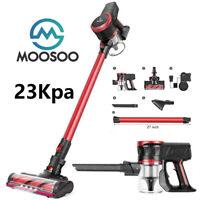 MOOSOO New K17 23Kpa Stick Cordless Vacuum Cleaner Handheld HEPA Filter 2200mAh