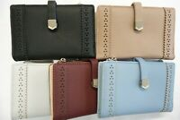 Ladies Purse Wallet Slim Size with Coin Pocket RFID Protected