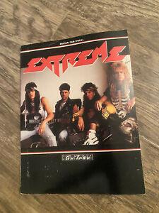 Extreme guitar/ tab/ vocal book Music Rare