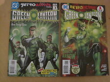 GREEN LANTERN, SET 2x 64 PAGE GIANT ONE-SHOT RETROACTIVE 1970's & 1980's.DC.2011