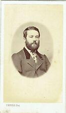 Photo cdv : F.Bonfils ; Portrait de Monsieur Castanié , vers 1865