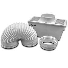 Kondensbox inkl. Abluftschlauch und Klemme für Ablufttrockner, Trockner