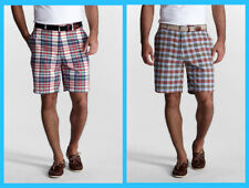 Lands' End ~ 9 Inch Madras Men's Size 48 Bermuda Shorts $40 NIP