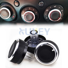 Fit For Mazda 2 Demio Switch Knob A/C Heater Climate Control Buttons Dials Frame