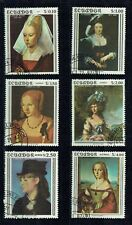 Ecuador, 1362-1367, Frauenbilder 1967, gestempelt, Super-Startpreis!