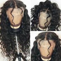 Curly Wavy 13x6 Lace Front Human Hair Wigs Brazilian Hair Full Wig Baby Hair AS1