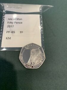 Isle Of Man 50 Pence Weding 2 Proof