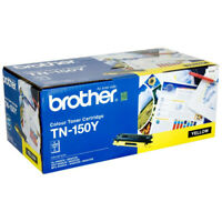 Brother TN 150 Toner Cartridge, Yellow Genuine HL4040/4050/DCP9040/MFC9440/9840