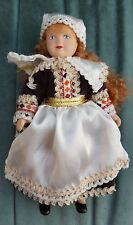 CHINA/PORCELAIN DOLL WEARING TRADITIONAL CZECHOSLOVAKIAN COSTUME