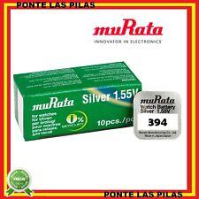 10x Pila Boton SONY MURATA 394 - SR936SW - 1,55V