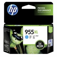 Genuine HP 955XL Cyan Ink Cartridge L0S63AA OfficeJet Pro 7740 8216 8730 8745