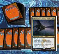 mtg BLUE BLACK SILUMGAR DRAGON DECK Magic the Gathering rare 60 cards +