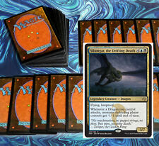 mtg BLUE BLACK SILUMGAR DRAGON DECK Magic the Gathering rare cards