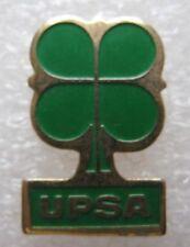 Pin's Médicament Pharmacie UPS tréfle vert #1587