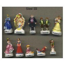 Série complète de 10 fèves Sissi III