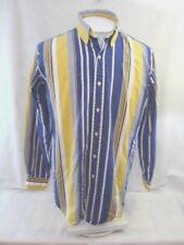 RALPH LAUREN Classic Fit slim Men Shirt 15 1/2 M vintage 1990s stripe cotton