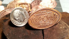 """""""We The People"""" - Golf Ball Marker Pressed copper Penny Ball Mark"""