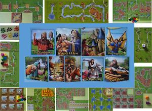 Carcassonne Erweiterungen und Minierweiterungen zur Auswahl (Hans im Glück)