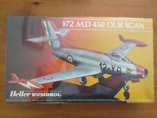 MAQUETTE 1/72 - HELLER - Dassault MD 450 Ouragan