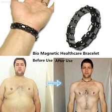 598B Bracelet Bangle Black Magnetic Men Weight Loss Health Care Hematite Gifts