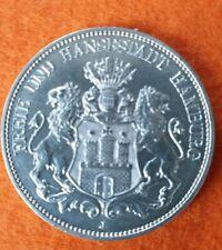 Fünf Mark 1913 J Freie und Hansestadt Hamburg - 5 Mark - Deutsches Reich