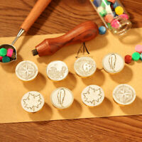 Romantic Invitation Letter Sealing Wax Set Wooden Handle Wax Seal Stamp Craft