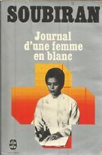 SOUBIRAN JOURNAL D'UNE FEMME EN BLANC