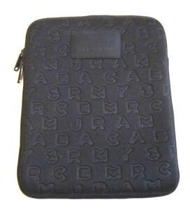 Marc by Marc Jacobs Dreamy Print Pattern Black Neoprene iPad Tablet Case Sleeve