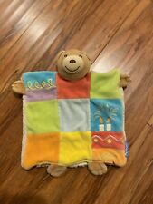 """Kaloo Teddy Bear Doudou Baby Colorful Baby Security Blanket 8-9"""" Hand Puppet"""