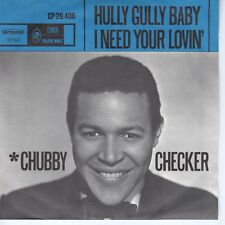 7inch CHUBBY CHECKER hully gully baby HOLLAND VG++/EX (S1310)