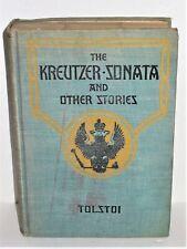 The Kreutzer Sonata & Other Stories, Tolstoi, 1915 Fox Movie Edition
