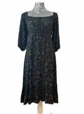 TOPSHOP Dress Size 10 Boho Autumn Ladies Smock Dress