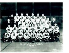 1939 CHICAGO BEARS TEAM 8X10  PHOTO FOOTBALL NFL ILLINOIS