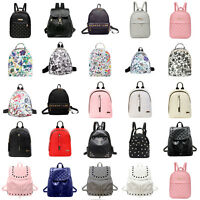Women Backpack Travel PU Leather Handbag Rucksack Satchel Shoulder SchooL Bags