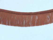 """2 3/4"""" Bronze Chainette Fringe Trim with FREE Gimp ~ Lampshades  2 YARDS ++"""
