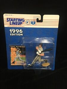 New Starting Lineup 1996 Edition Jeff Bagwell Superstar Sports Collectible VTG