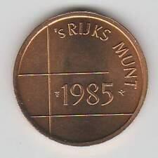Nederland Rijksmunt 1985 uit muntset (bkl)