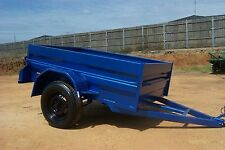 BOX TRAILER 7X4 HIGH SIDE HEAVY DUTY SPECIAL- free spare, LEDs & jockey wheel !!