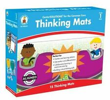 Thinking Mats grade 1 Center Solutions new Critical Thinking games math NIB